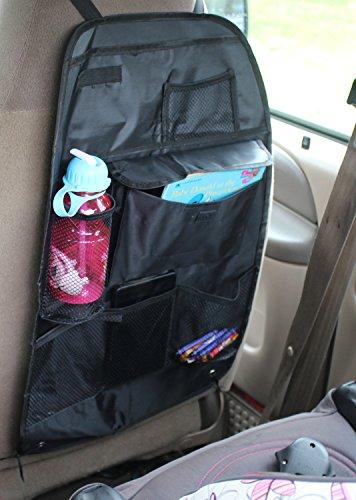 back seat organizer auto travel interior accessories car backseat storage solutions vehicles. Black Bedroom Furniture Sets. Home Design Ideas