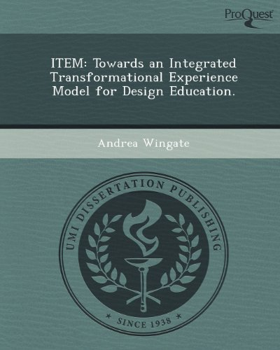 Item: Towards an Integrated Transformational Experience Model for Design Education