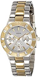 GUESS Analog Silver Dial Womens Watch - W14551L2