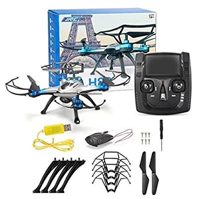 Womail JJRC H29G 5.8Ghz FPV 2.4Gh CF Aerial 6Axis 4CH Quadcopter RTF 2MP Camera Drone