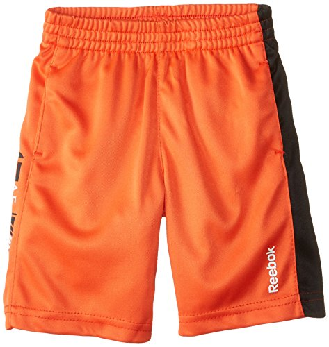 Reebok Little Boys' Graphic Short Toddler, Ultimate Orange, 2T