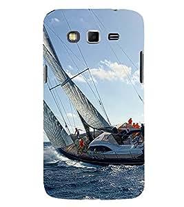 SAILORS SHIP WITH WILD SEA TIDES 3D Hard Polycarbonate Designer Back Case Cover for Samsung Galaxy Grand 2 G7102 :: Samsung Galaxy Grand 2 G7106