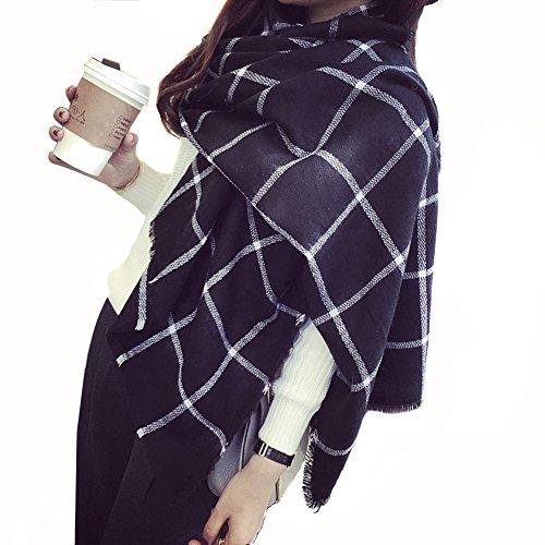 unisex-alla-moda-caldo-bianco-e-nero-lattice-lungo-scialle-sciarpa-a-duplice-uso-esterno-antivento-c