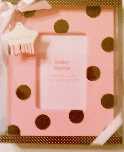 Nursery Rhyme® Ceramic Frame for Girls (Pink) - 1