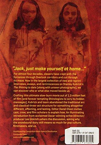 Studies in the Horror Film: Stanley Kubrick's the Shining