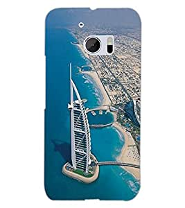 HTC ONE M10 BUILDING Back Cover by PRINTSWAG