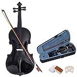 Violinen Geigen Set 4/4 Koffer + Bogen + Zubehör Kolofonium...