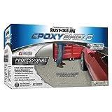 Rust-oleum 238467 Epoxyshield Professional Semi-Gloss Floor Coating Kit, 2 Gallon (Color: Dark Gray)