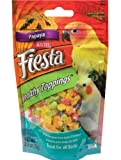 ✎ Kaytee 2.5-Ounce Fiesta Healthy Toppings Papaya for Birds ✎