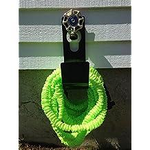 Hose Holder & Support, Metal Holder Slips Over Spigot, Faucet Or Mount On Any Surface Perfect For XHose, Pocket...