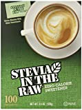 Stevia Raw Sweetener, 100 Count, 3.5 Ounce