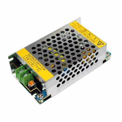 Ggl Xy Universal 110/220V Ac To Dc 12V 3.2A 38W Regulated Switching Power Supply Unit Converter Adapter Transformer Driver - Ideal For Led Flexible Strip Light Ribbon Lamp Bulb Cctv Camera Monitor Radio Industrial Automation Control Network System Devices