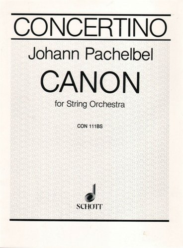 Canon In D For String Orchestra Book