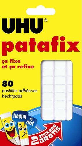 Uhu - Pasta adesiva Patafix, rimovibile