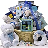 Great Arrivals Baby Gift Basket, Grand Welcome Boy
