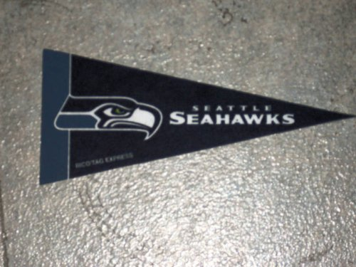 Seattle Seahawks Mini Felt Pennant at Amazon.com
