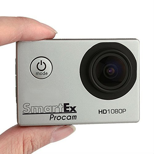 ProCam-Sport-HD-1080p-Completa-di-Kit-Accessori-Action-Camera-12MP-lente-170-Waterproof-Videocamera-Pro-Go-Kart-Sci-Scuba-Diving-Sport-Estremi