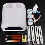 DANCINGNAIL Pro 36W White Curing Manicure Dryer Lamp Nail Art UV Gel Polish Tool Kit Set - Best Reviews Guide