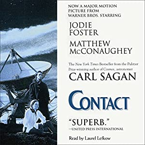 Contact Audiobook by Carl Sagan Narrated by Laurel Lefkow