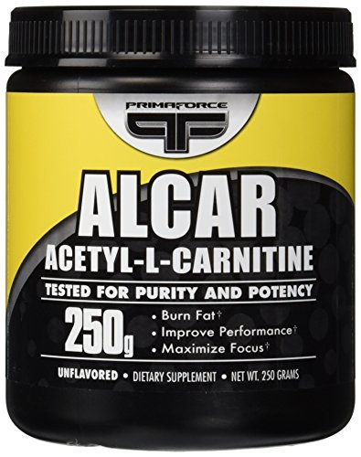 PrimaForce, Alcar acétyle-L-Carnitine poudre, Unflavored, 250 g