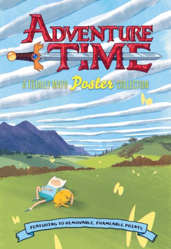 Adventure Time: A Totally Math Poster Collection (Poster Book): Featuring 20 Removable, Frameable Prints