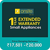 Onsite Secure 1 Year Extended Warranty for Small Appliances (Rs 17501 - 20000)
