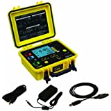AEMC 6470-B Multi-Function Digital Ground Resistance Tester Kit, 99.99 Kilohms Resistance, 32V Voltage, 250mA Current