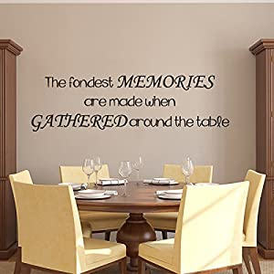 dining room wall decal sticker mural removable memory