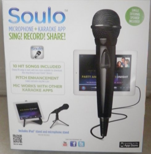 Soulo Wired Microphone Karaoke System For Ipad, Iphone, Ipod Touch