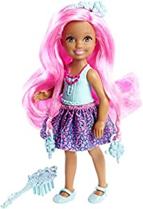 Barbie Endless Hair Kingdom Junior Doll, Blue