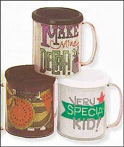 White Stitch-a-Mug