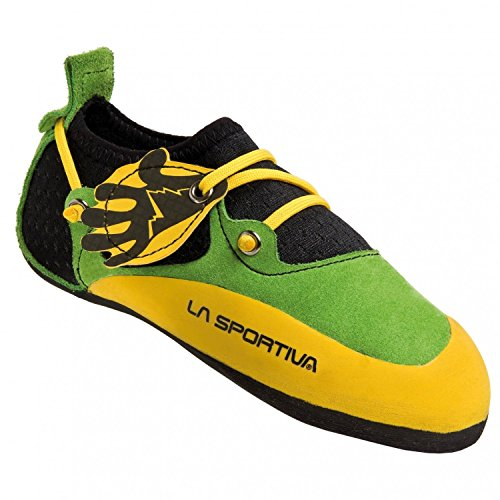 La-Sportiva-Stickit-climbing-shoes-Children-yellowgreen-Size-32-33-2015