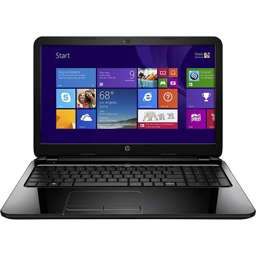 "Hp 15-G 15.6"" Laptop - Amd A8-Series, 4Gb Memory, 750Gb Hard Drive, Windows 8.1, Black Licorice"