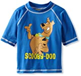Scooby Doo Boys 2-7 Rash Guard, Blue, 5