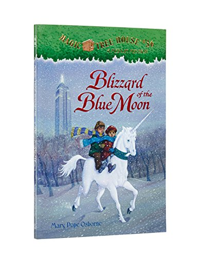 Magic Tree House #36: Blizzard of the Blue Moon (A Stepping Stone Book(TM)) (Magic Tree House (R) Merlin Mission)