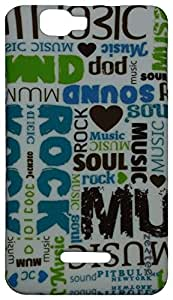 Zeztee Printed Soft TPU Mobile Back Cover for Micromax Canvas Colours A120 ZT3315