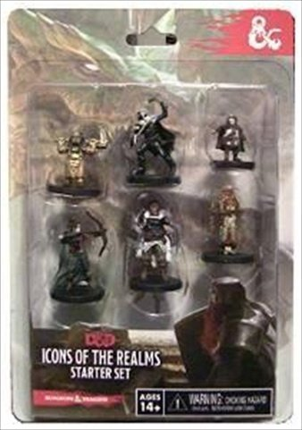 Dungeons and Dragons Miniatures Icons of the Realms Starter Set by WizKids