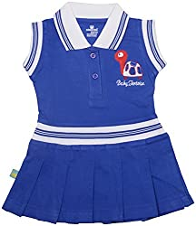 Absorba Baby Girls' Dress ( Royal_18-24 Months ,60003)