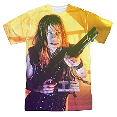 The Terminator II Sarah Connor All Over Print Front T-Shirt