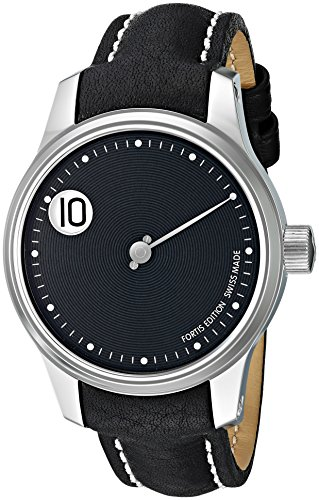 Fortis-Mens-7102033-L01-F-43-Jumping-Hour-Analog-Display-Automatic-Self-Wind-Black-Watch