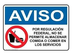 Osha notice regulations require no food in for Osha bathroom requirements