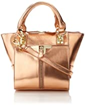 Danielle Nicole Alexa Mini Cross Body Bag,Rose Gold,One Size