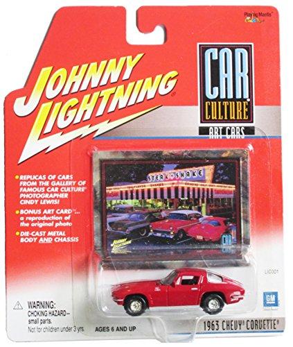 Johnny Lightning Car Culture Art Cars 1963 Chevy Corvette - 1