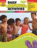 Daily Summer Activities, Moving from PreK to Kindergarten (1557997640) by Jill Norris