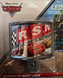Disney Pixar Cars LED Night Light - Racing Sports Network
