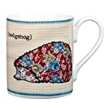Queens Forest Friends Hedgehog Mug