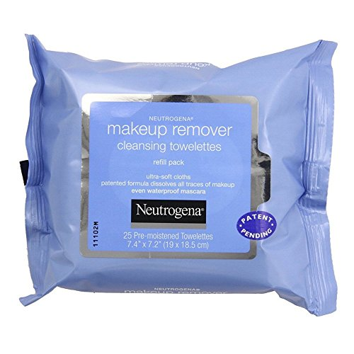 Neutrogena Makeup Remover Cleansing Towelettes - 25 ct - 2 p