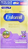 Enfamil Gentlease Infant Formula Milk-Based Powder with Iron, Combo Pack, 118.1 Ounce (Packaging May Vary)