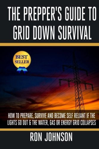 The Prepper's Guide To Grid Down Survival: How To Prepare For & Survive A Gas, Water, Or Electricity Grid Collapse