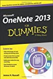OneNote 2013 For Dummies (For Dummies (Computer/Tech)) Paper book ISBN:1118550560